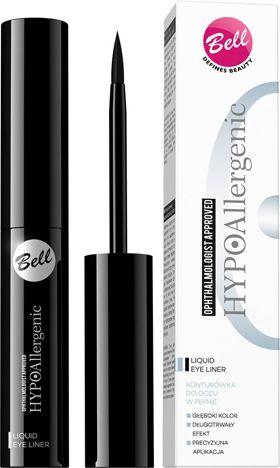 BELL HYPOallergenic Eyeliner Liquid 01 czarny