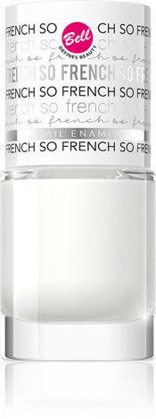 BELL SO FRENCH Trwały lakier do paznokci 01 8 g