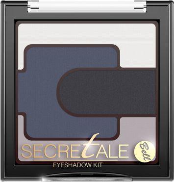 BELL Secretale Cienie Eyeshadow Kit 03