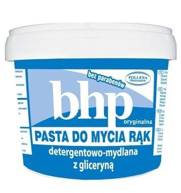 BHP Pasta do mycia rąk detergentowa-mydlana z gliceryną 500 g