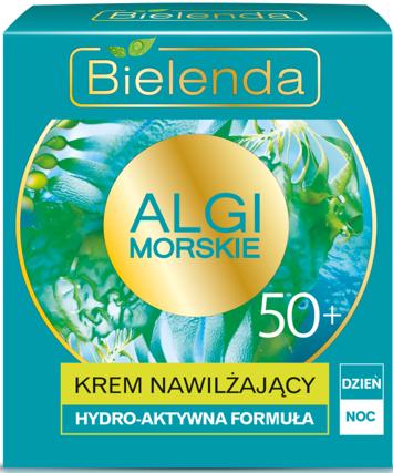 BIELENDA Algi Morskie Krem 50+ NAWILŻAJĄCY na dzień i noc 50 ml