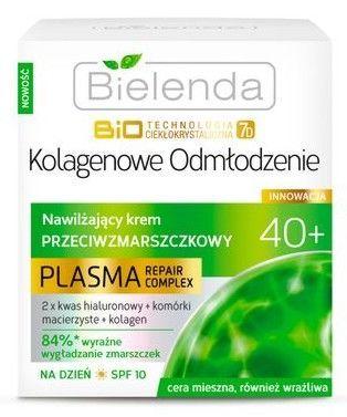 BIELENDA Biotech 7D Plasma 40+ Nawilżający krem przeciwzmarszczkowy na dzień 50 ml