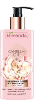 BIELENDA CAMELLIA OIL Luksusowy rozświetlający eliksir do ciała 150ml