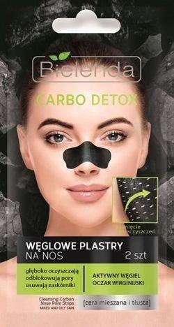 BIELENDA Carbo Detox Węglowe plastry na nos (2szt)