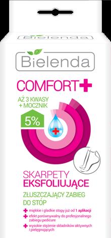 BIELENDA Comfort Skarpety eksfoliujące 2 sztuki