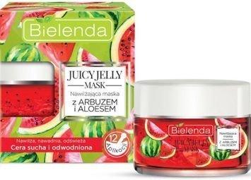 BIELENDA Juicy Jelly maska nawilżająca arbuz & aloes 50 g