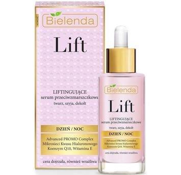 BIELENDA LIFT Liftingujące serum na dzień i na noc twarz, szyja, dekolt 30 ml