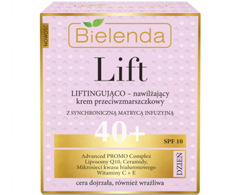 BIELENDA LIFT Liftingująco-nawilżający krem 40+ DZIEŃ 50 ml