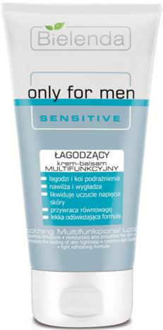 BIELENDA Only for men SENSITIVE Łagodzący krem - balsam multifunkcyjny 125 ml