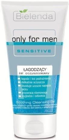 BIELENDA Only for men SENSITIVE Łagodzący żel do mycia twarzy 150 ml