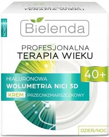 BIELENDA PROFESJONALNA TERAPIA WIEKU Hialuronowa Wolumetria NICI 3D Krem przeciwzmarszczkowy 40+ dzień/noc  50 ml