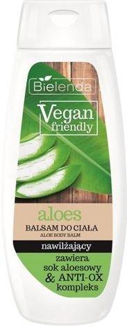 BIELENDA VEGAN FRIENDLY Balsam do ciała nawilżający aloes 400 ml