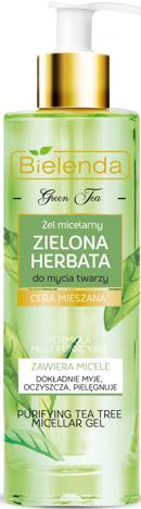 BIELENDA ZIELONA HERBATA Żel micelarny do mycia twarzy 200 ml