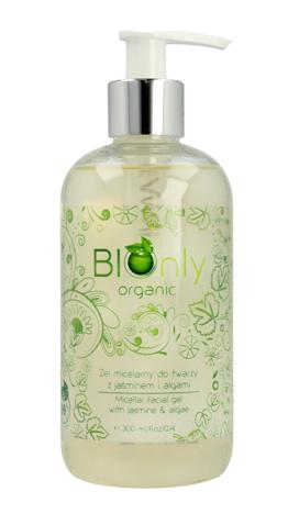 """BIOnly Organic Żel micelarny do twarzy z jaśminem i algami  300ml"""""""