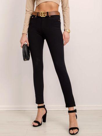 BSL Czarne spodnie jeansowe