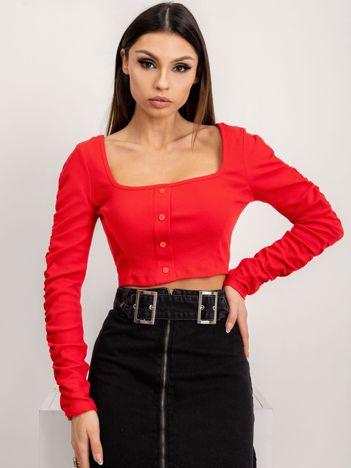 BSL Czerwona bluzka damska