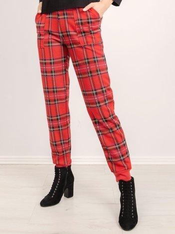 BSL Czerwone spodnie dresowe