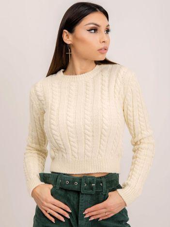 BSL Ecru sweter