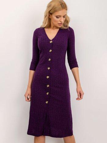 BSL Fioletowa sukienka