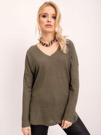 BSL Khaki damska bluzka