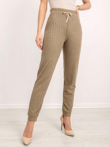 BSL Khaki spodnie damskie
