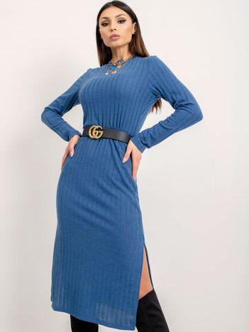 BSL Niebieska sukienka