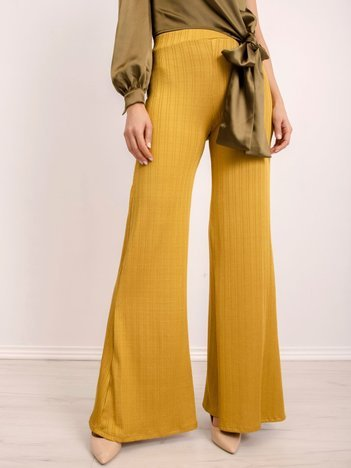 BSL Oliwkowe spodnie damskie