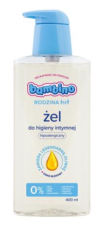 Bambino Rodzina Żel do higieny intymnej hipoalergiczny 400 ml
