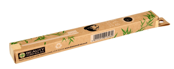 """Beauty Formulas Eco Szczoteczka do zębów bambusowa 1szt"""""""