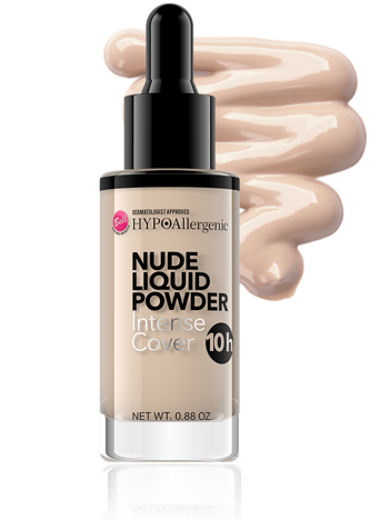 Bell HYPOAllergenic Puder w płynie Nude Liquid Powder nr 02 Light Beige 25 g