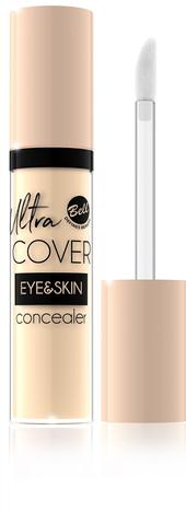 Bell Korektor intensywnie kryjący w płynie Ultra Cover Eye & Skin nr 03 Medium Beige 5g