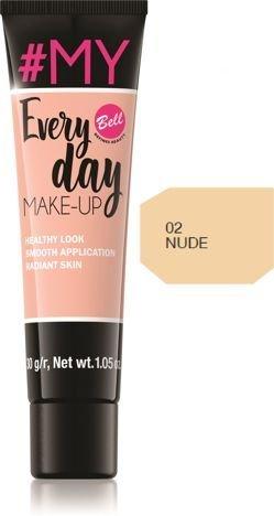 Bell #My Everyday Make-Up Podkład wyrównujący koloryt nr 02 Nude 30g