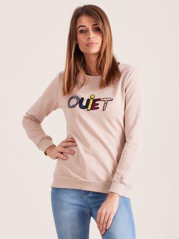 Beżowa bluza QUIET