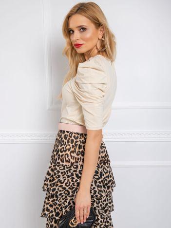 Beżowa bluzka Alessandra