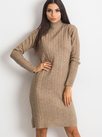 Beżowa sukienka Evermore