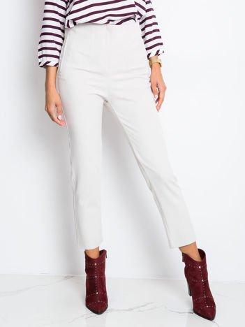 Beżowe spodnie Hyper