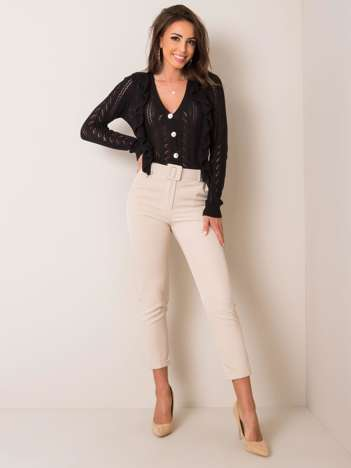 Beżowe spodnie Melissa