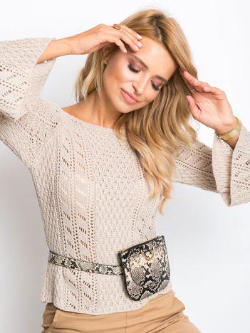 Beżowy sweter Natasha