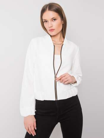 Biała bluza bomberka Ruby