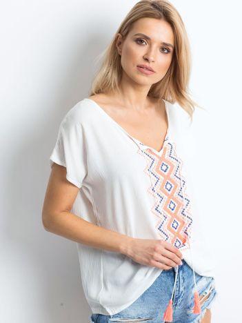 Biała bluzka Colourway