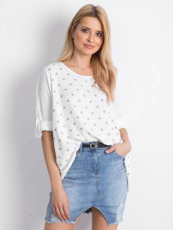 Biała bluzka Designer