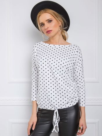 Biała bluzka Jennifer RUE PARIS
