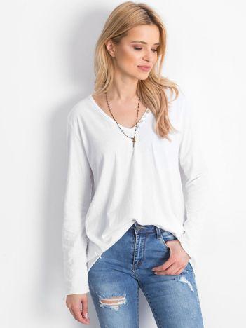 Biała bluzka Prompting