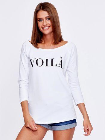 Biała bluzka VOILA