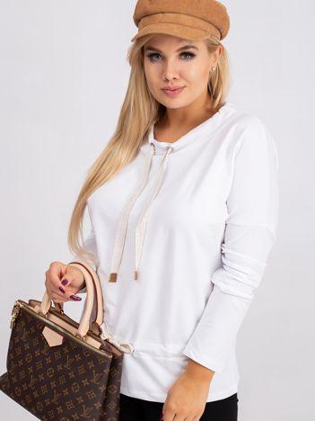 Biała bluzka plus size Khloe