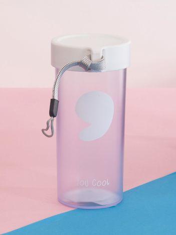 Biała butelka na napoje