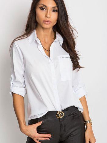 Biała koszula Dangerous