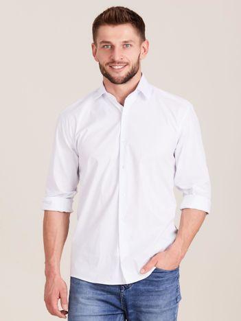 Biała koszula męska regular