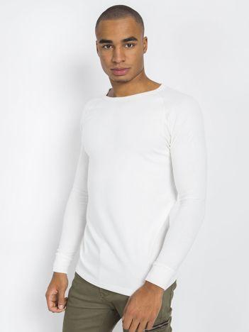 Biała męska bluzka termiczna