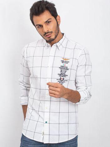 Biała męska koszula Italian